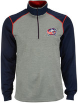 Antigua Men's Columbus Blue Jackets Breakdown Quarter-Zip Pullover