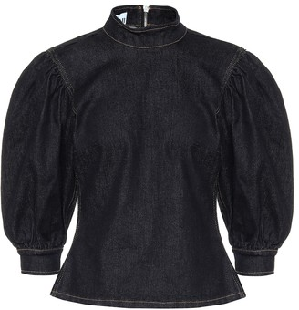 Ganni Denim blouse