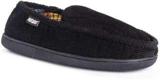 Muk Luks Men's Flannel LininCorduroy Moccasin Slippers