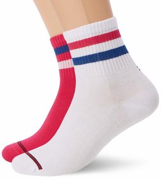 Tommy Hilfiger mens Thj Uni Skate 2p Socks (Pack of 2)