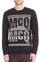 McQ by Alexander McQueen Fair Isle Wool Sweater