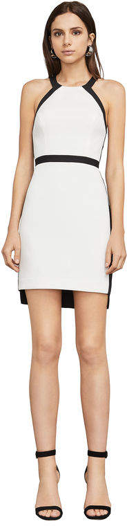 BCBGMAXAZRIA Sabryna Cutout Halter Dress