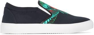 Marcelo Burlon County of Milan Wings print slip-on sneakers