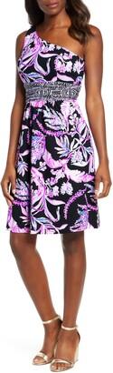 Lilly Pulitzer Malia One-Shoulder Dress
