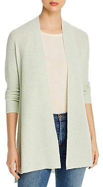Eileen Fisher Petites Open-Front Long Cardigan