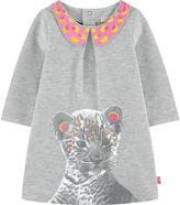 Billieblush Sweatshirt dress with a Peter Pan collar