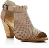Paul Green Colleen Perforated Peep Toe Cutout Booties