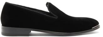 Alexander McQueen Toe-cap Suede Loafers - Black