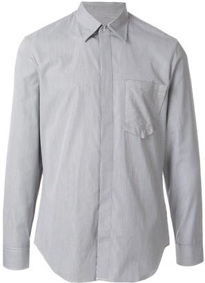 Maison Margiela pinstripe tailored shirt