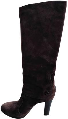 Vic Matié Brown Suede Boots