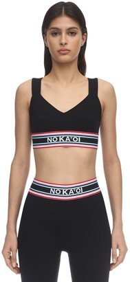 NO KA 'OI Grace Nylon Sports Bra
