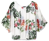 Vince Camuto Tropical-print Batwing Blouse