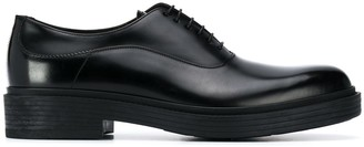 Giorgio Armani Leather Oxford Shoes