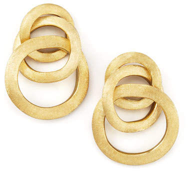 Marco Bicego Jaipur Link Gold Large Twist Earrings