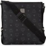 Mcm Stark Leather Messenger Bag