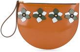 Marni flower appliqué clutch bag