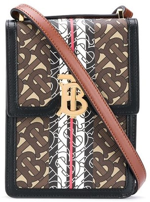 Burberry Monogram-Print Crossbody Bag