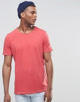 United Colors Of Benetton T-shirt With Raw Edge Neck