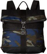 Toms Olive Camo Herringbone Backpack