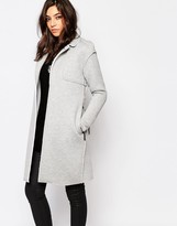 Noisy May Sweat Trench Coat