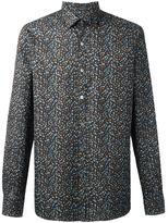 Lanvin abstract print shirt