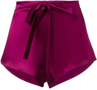 Gilda and Pearl Sophia satin shorts