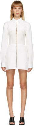 Dion Lee White Tube Hook Shirt