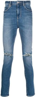 Neuw Denim Distressed Skinny Jeans