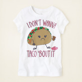 Children's Place Taco bout it graphic tee