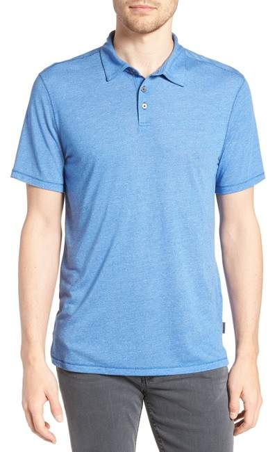 John Varvatos Regular Fit M?lange Polo