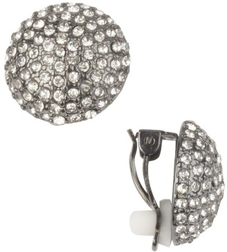 Linea By Louis Dell'olio by Louis Dell'Olio Crystal Button Earrings