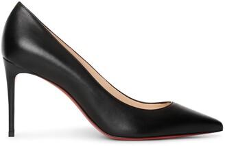 Christian Louboutin Kate 85 black leather pumps