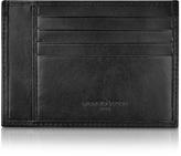 Giorgio Fedon Classica Collection - Black Calfskin Card Holder