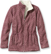 L.L. Bean Women's Diamond Jacquard Anorak