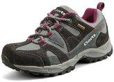 Clorts Women's Suede Leather Waterproof Outdoor Sport Hiking Treeking Shoe HKL-828D