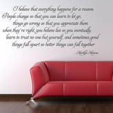 Monroe Parkins Interiors I Believe Marilyn Wall Stickers