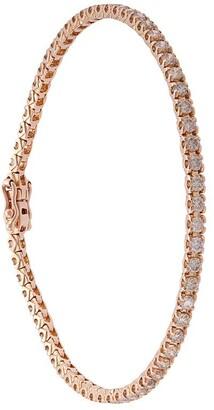 Eva Fehren 18kt rose gold 2mm Line diamond bracelet