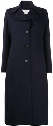 Valentino V plaque coat
