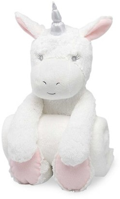Elegant Baby Baby's Plush Unicorn Huggie Set