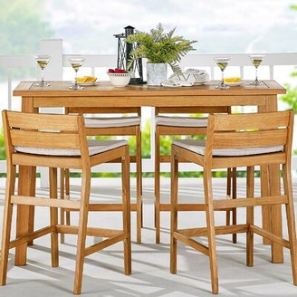 Kamden Wooden Bar Table Foundry Select