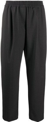 Aspesi Relaxed Cropped Trousers
