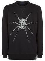 Lanvin Beaded Spider Sweatshirt
