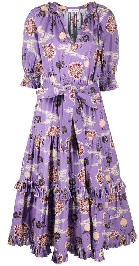 Ulla Johnson Zinnia belted dress