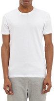 Barneys New York Men's Crewneck T-shirt-WHITE