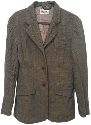 Ports 1961 Brown Wool Jacket for Women Vintage