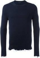 Etro frayed edge sweatshirt