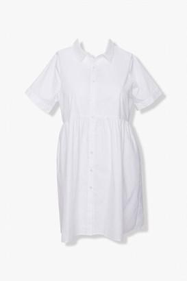 Forever 21 Plus Size Poplin Shirt Dress