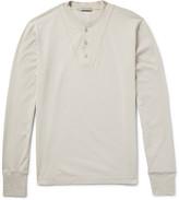 Bottega Veneta - Cotton-jersey Henley T-shirt