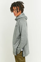 Nike Tech Grey Fleece Turtleneck Hoodie