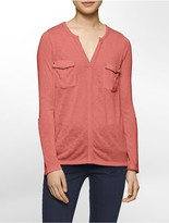 Calvin Klein Cargo Long Sleeve Shirt